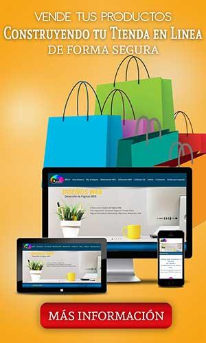 Vende tus productos en Linea DiseñosWebpr.com